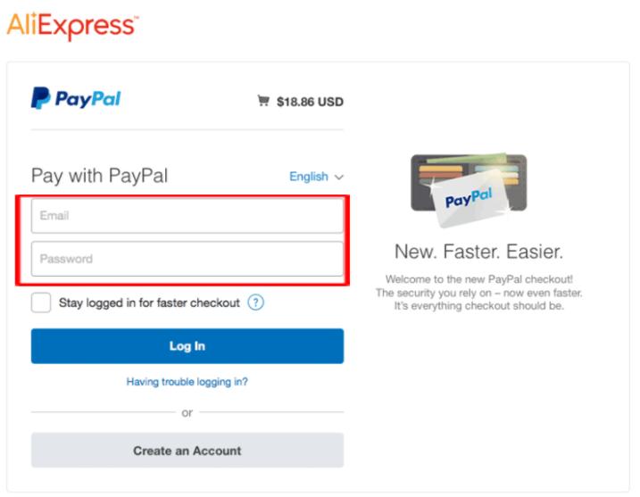 AliExpress PayPal